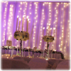 up lights, wedding, LED columns